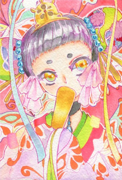 4/17卒業生彩藤ありささんが「春のひょうたん小町&癒しの森イベント」に出品されます。1