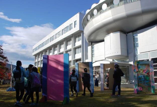 """11月19日(日)京都西南ロータリークラブ 創立45周年記念事業""""現代アートにふれる 「どこにでもドア」を作ろう!""""を実施しました。:7"""