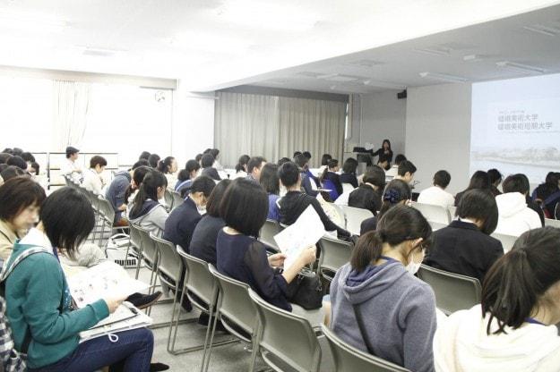 嵯峨美オープンキャンパス、ご来場ありがとうございました!:3