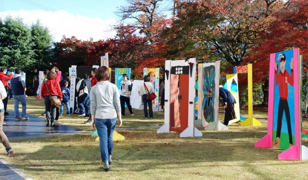 """11月19日(日)京都西南ロータリークラブ 創立45周年記念事業""""現代アートにふれる 「どこにでもドア」を作ろう!""""を実施しました。:6"""