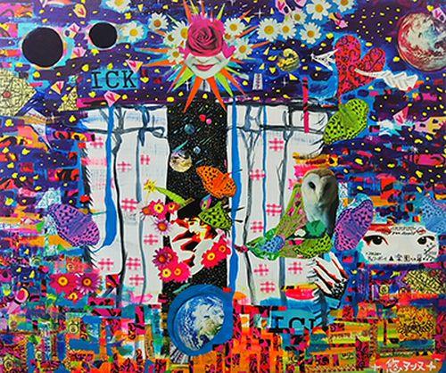 卒業生悠アンヌさんが、新協美術会主催の第1回関西アートコンペで佳作賞を受賞されました。0