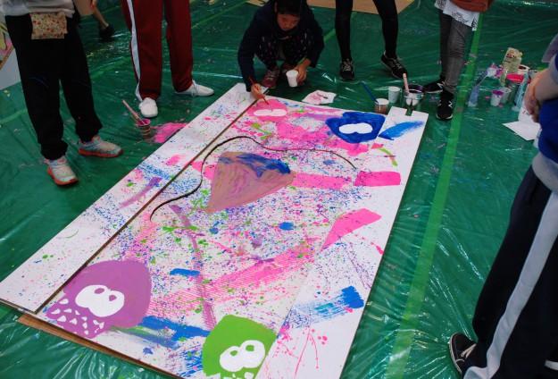 """11月19日(日)京都西南ロータリークラブ 創立45周年記念事業""""現代アートにふれる 「どこにでもドア」を作ろう!""""を実施しました。:2"""