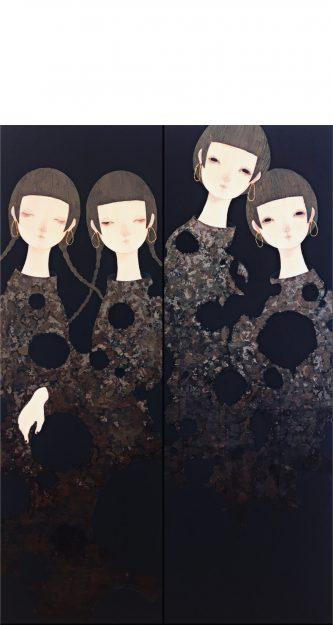 大学院生青木香織さんの作品が「明日をひらく絵画 第37回 上野の森美術館大賞展」に入選し、「上野の森美術館」、「京都文化博物館」で展示されます。0