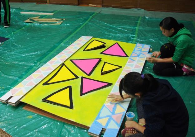 """11月19日(日)京都西南ロータリークラブ 創立45周年記念事業""""現代アートにふれる 「どこにでもドア」を作ろう!""""を実施しました。:3"""