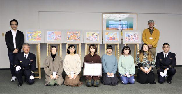 右京消防署の広報グッズを学生がデザインしました。:3