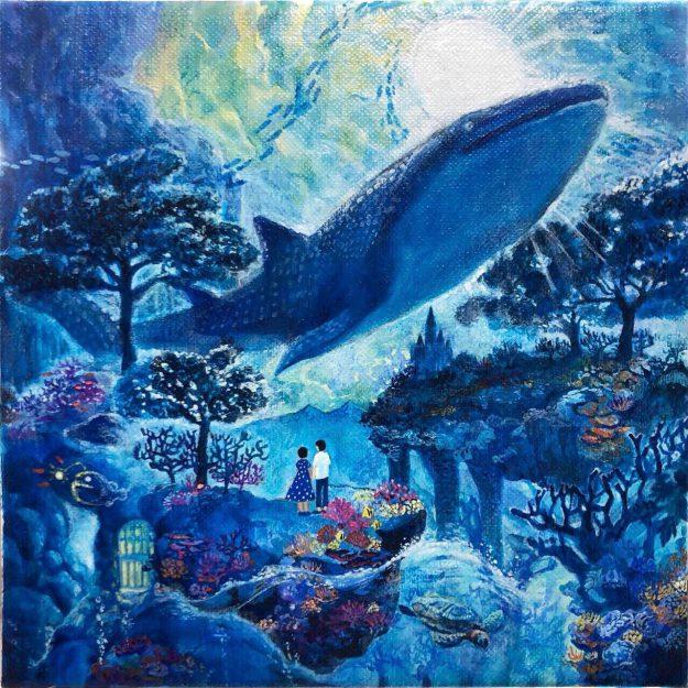 1/23~27大学院1年次生木本小百合さんがgalleryそら(大阪市)で、個展「Dazzling day」を開催されます。2