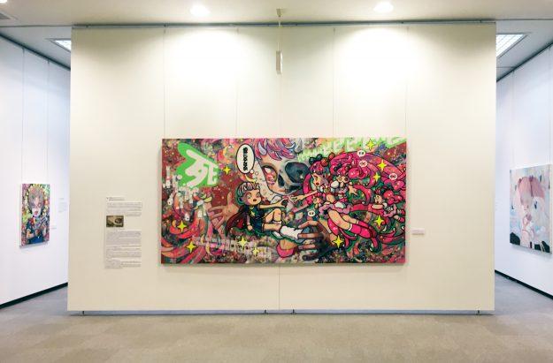 客員教授 下田ひかり展「死と再生のカタストロフィ」レポート:6