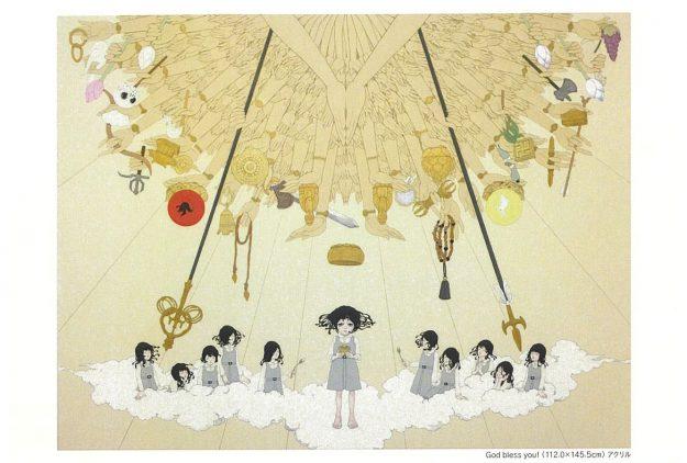 6/17~29卒業生で現代美術家の永島千裕さんが東京・新宿高島屋で『永島千裕展 God bless you!』を開催されます。0