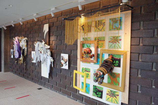 8/14・15 芸術学部デザイン学科の池田泰子教授と在学生がロームシアター京都でワークショップ「どうぶつマスクプロジェクト」を実施しました。1