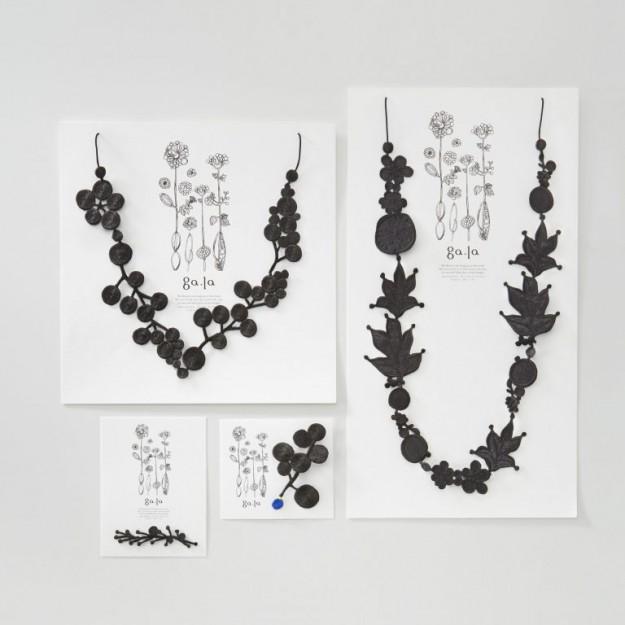 卒業生長野訓子さんの「刺繍アクセサリーga.la」の展示会が京都、大阪、神戸の計5会場で開催されます。0