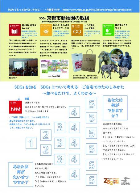11/20~12/8京都市動物園で、本学学生が「SDGsと京都の街の取組展」を開催しています。1