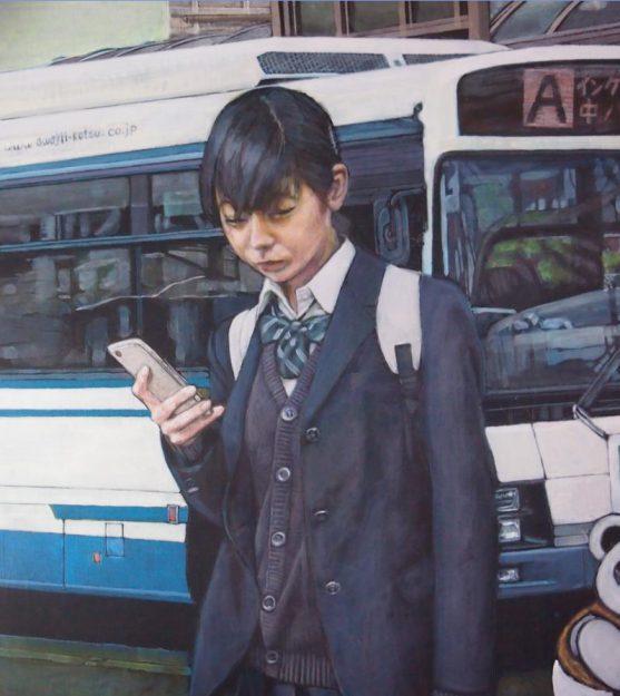 卒業生藤井のぶおさんが、「兵庫二紀 新鋭作家展2021」(1/9~14)、 「十の会大作展」(1/9~23)(兵庫県)に参加されます。1