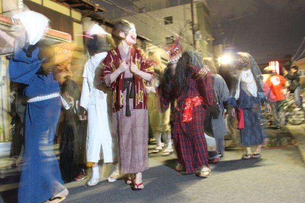 デザイン学科 河野隼也講師が主宰する「妖怪藝術団体 百妖箱」が、20th Orchestra Concert 2021 HYDE HEIANJINGUが協力するイベント「せっかくやし、京都。」に衣装提供を行います。0