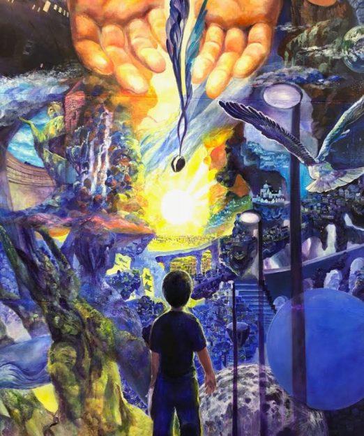 1/23~27大学院1年次生木本小百合さんがgalleryそら(大阪市)で、個展「Dazzling day」を開催されます。3